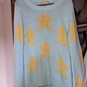Wildfox White Label Couture Star Sweater Small